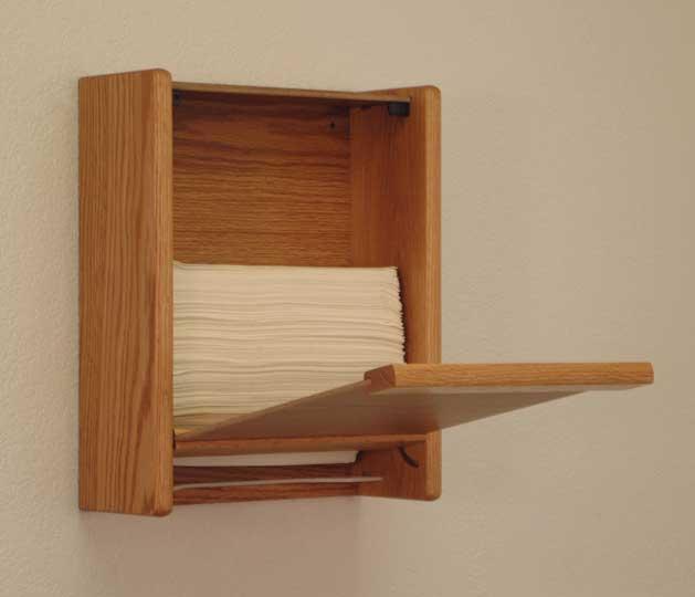 Wooden Mallet Oak Towel Amp Tissue Dispensers