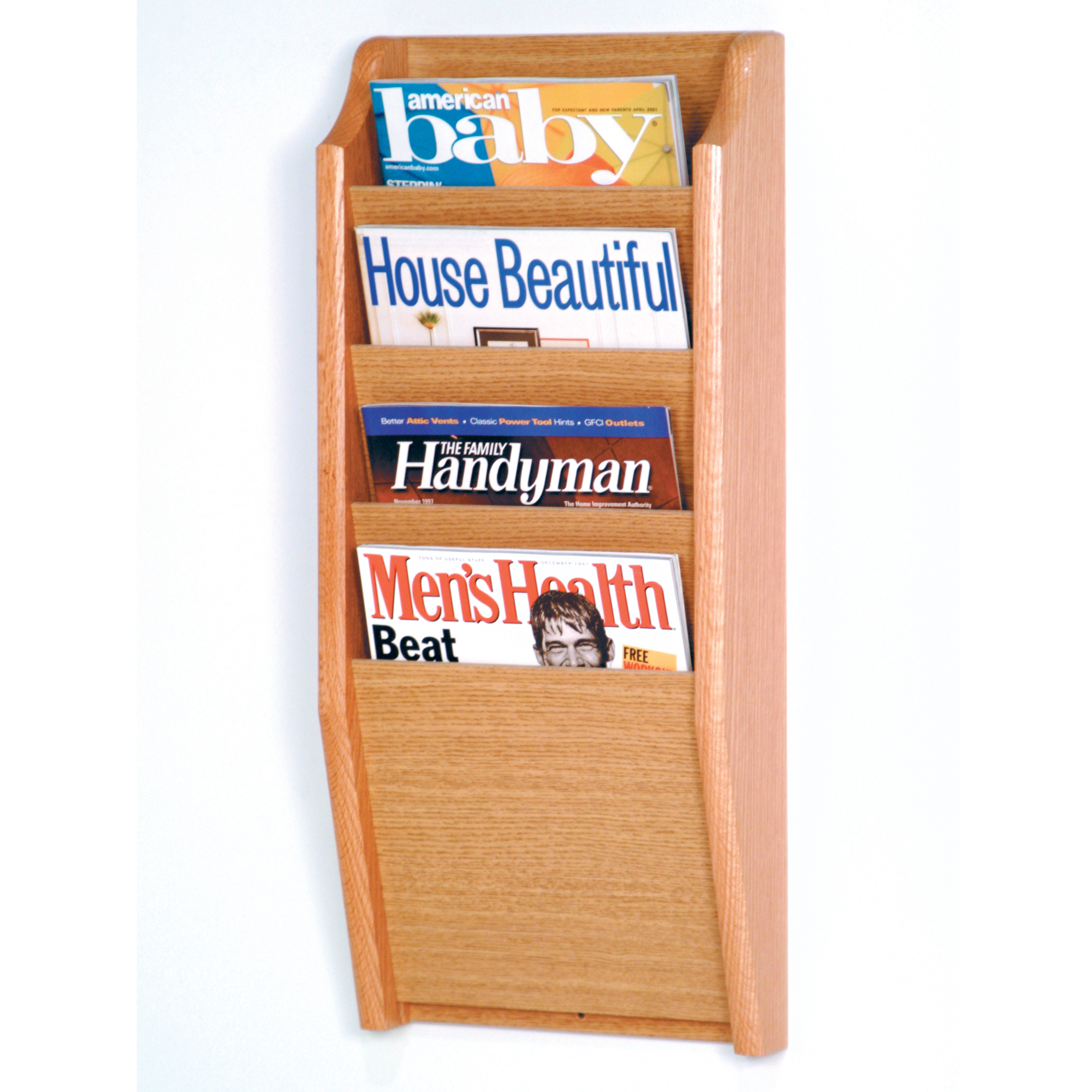 creations mounted custom rustic rack img magazine jays wall