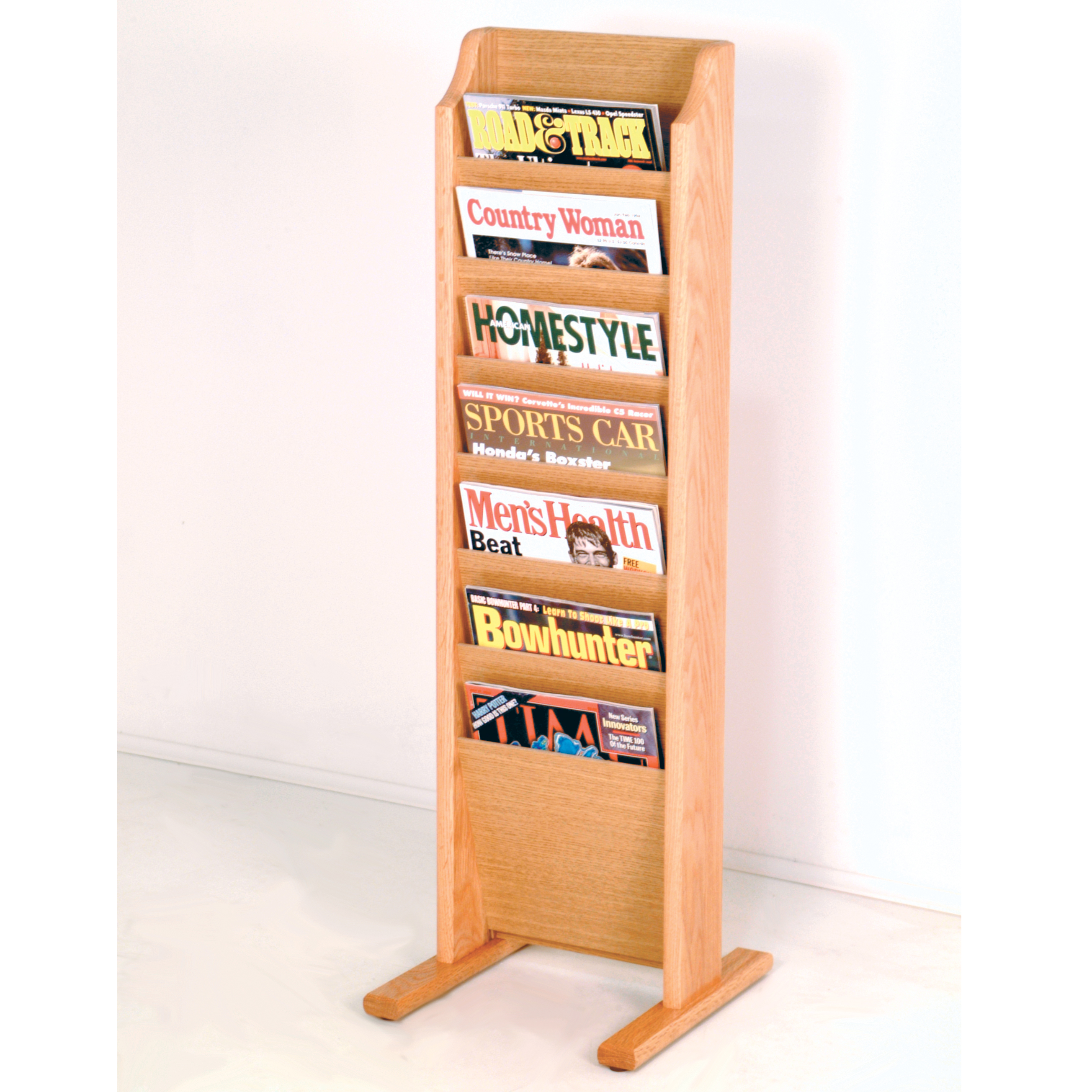 wire magazine metal bulk stand rack p wall mounted display literature newspaper catalog metail